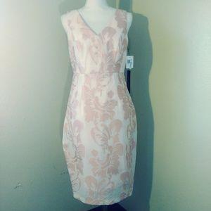 JAX black label Pink Floral Dress